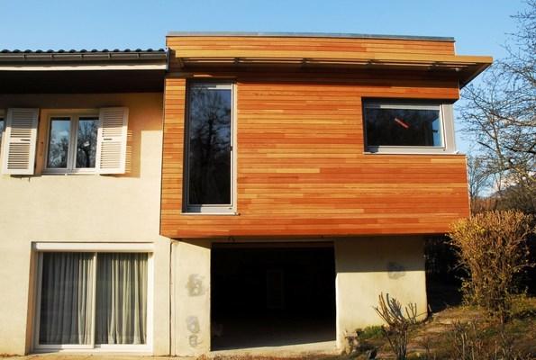 extensions bbc 0904 chambery 73 savoie extension sur l vation ossature bois. Black Bedroom Furniture Sets. Home Design Ideas