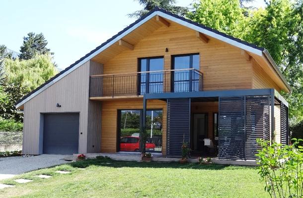 Maison bbc 1270 barberaz chambery 73 savoie maison for Maison en bois bbc