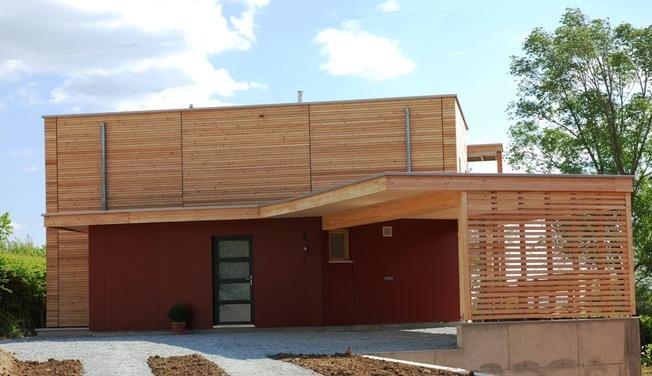 Maison Bois Bbc. Simple Panoramique Maison Ossature Bois ...